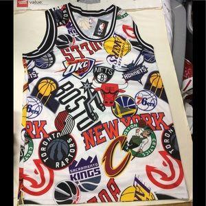 NBA logo tank top